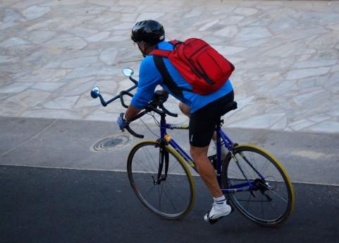 自転車通勤イメージ