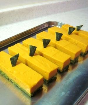 かぼちゃ豆乳チーズ