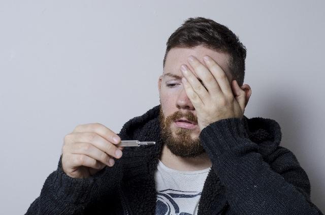 感染性胃腸炎の発熱