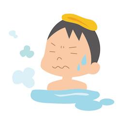 お風呂に長時間